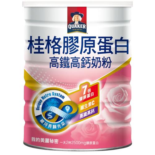 桂格 高鐵零脂肪奶粉海洋膠原蛋白配(750g/罐)