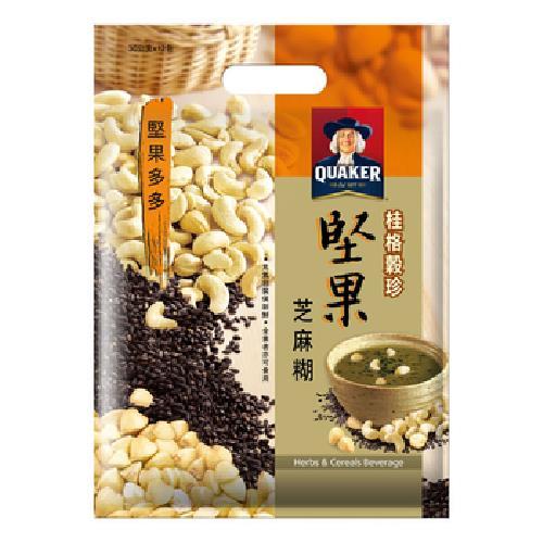 桂格 穀珍堅果多多-堅果芝麻糊(30g*12包/袋)