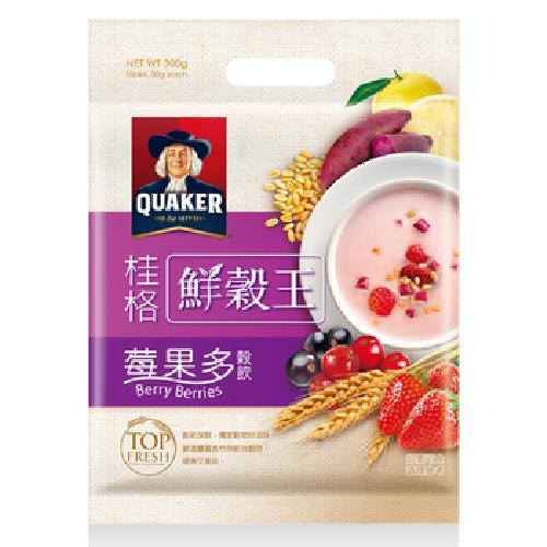 《桂格》鮮榖王-莓果多(30g*10包/袋)