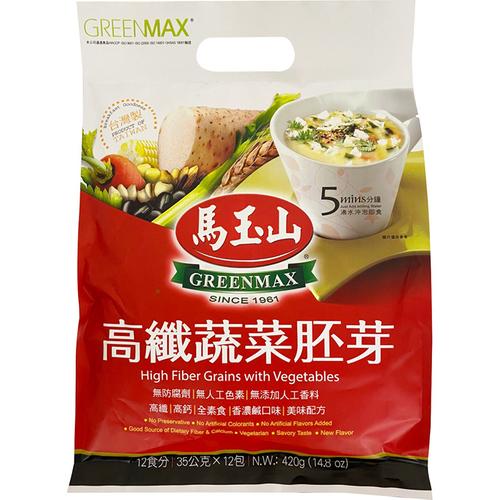 馬玉山 高纖蔬菜胚芽(35gx12包/袋)