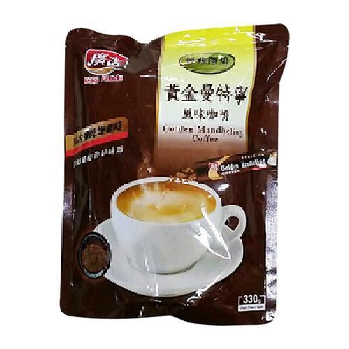 廣吉 頂級黃金曼特寧三合一咖啡(22gx15包/袋)