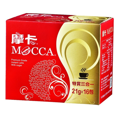 摩卡 特賞三合一咖啡(20gx16包/盒)