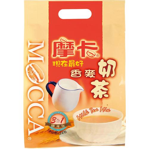 《摩卡》現在最好香麥奶茶(18g*24包/袋)