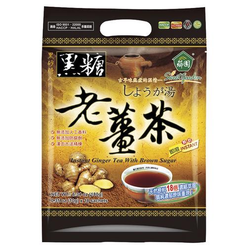 《薌園》黑糖老薑茶(10gx18包/袋)