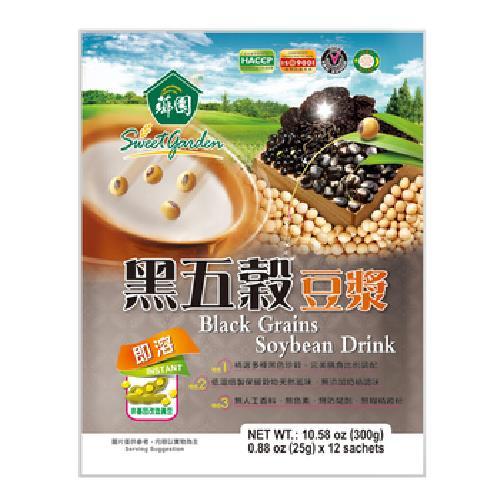 《薌園》黑五穀豆漿(25gx12包/袋)