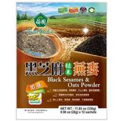 《薌園》黑芝麻糙米燕麥(28gx12包/袋)