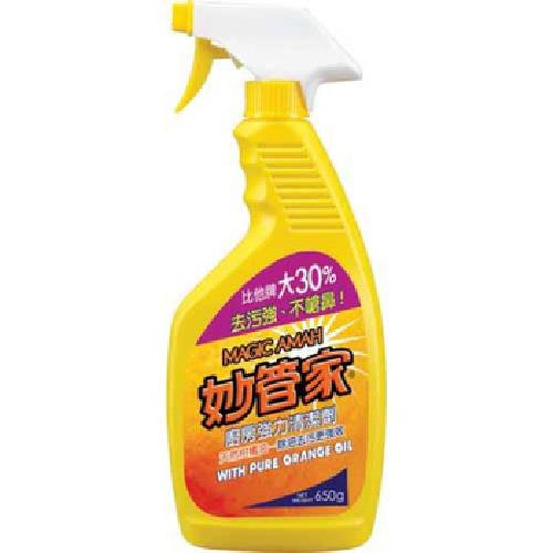 《妙管家》柑橘油廚房清潔劑(650g)