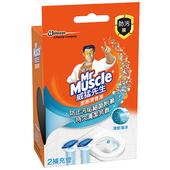 《威猛先生》潔廁清香凍補充管-海洋(38gx2入/盒)