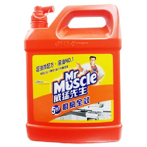 《威猛先生》廚房超強效清潔劑(4000ml/瓶)