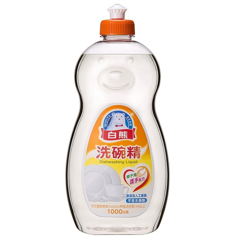 白熊 軟性洗碗精(1000g/瓶)