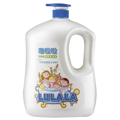 《嚕啦啦》清新沐浴乳(1850g/瓶)