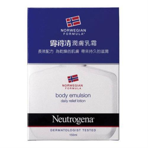 露得清 身體潤膚乳霜-無香(155ml/瓶)
