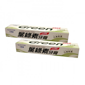 《日本SUNSTAR三詩達》葉綠素牙膏-清涼型(160gx2條/組)