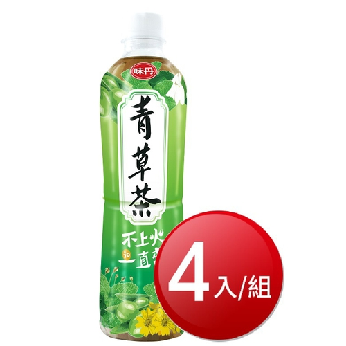 味丹 青草茶(600cc*4瓶/組)