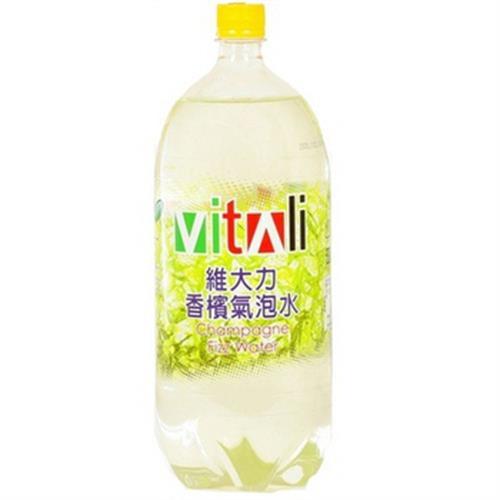 維大力 香檳汽水(2000ml/瓶)