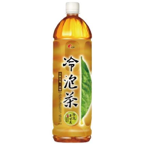 光泉 冷泡茶-冰釀烏龍(無糖)(1235ml/瓶)