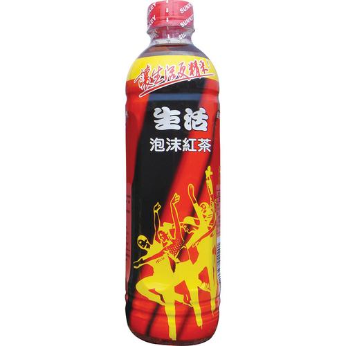 生活 泡沫紅茶(590mlx4瓶/組)