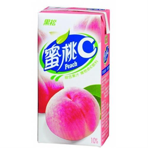 黑松 蜜桃C(300mlx24包/箱)