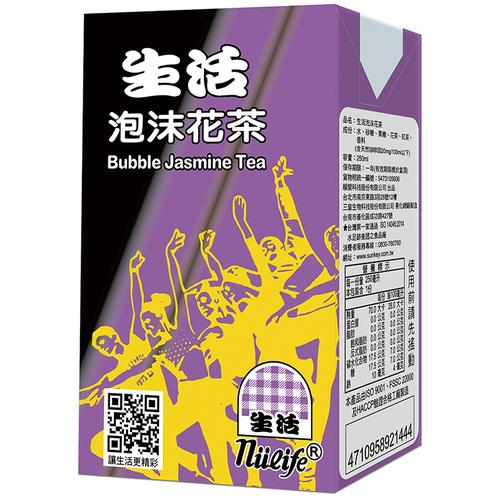《生活》泡沫花茶(250mlx24包/箱)