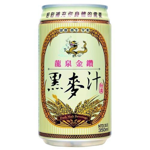 龍泉 金鑽黑麥汁(350mlx6罐/組)
