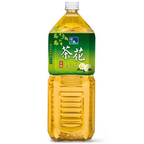 《悅氏》茶花綠茶(2000ml/瓶)
