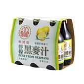 《崇德發》檸檬黑麥汁(330mlx6瓶/組)