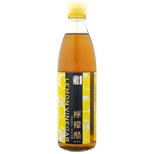 百家珍 健康醋檸檬(600ml/瓶)