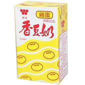 《味全》香豆奶-雞蛋(250mlx6包/組)