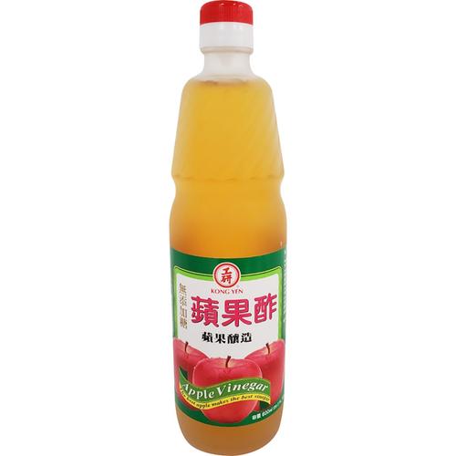 工研 蘋果酢(無糖)(600ml/瓶)