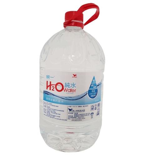 統一 H2O純水家庭號(5.8L/桶)