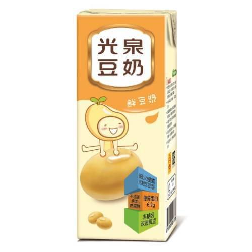 光泉 鮮豆漿(195mlx24包/箱)