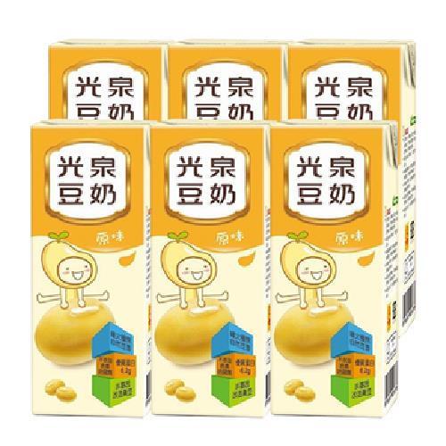 光泉 鮮豆漿(195mlx6包/組)