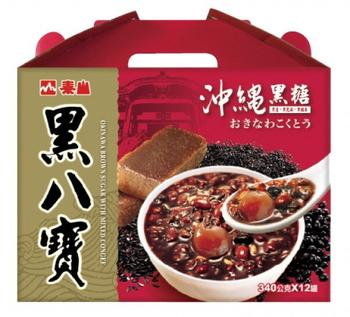 泰山 黑八寶禮盒(340gx12罐/盒)