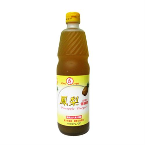 工研 鳳梨健康醋(600ml/瓶)