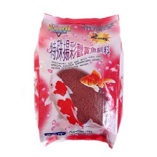 《仙境奇緣》2mm特殊色揚觀賞魚飼料(3kg/包)