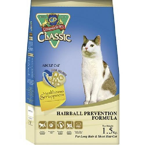 CP加好寶 經典貓乾糧-化毛配方(1.5kg/包)