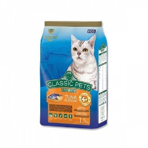 CP加好寶 經典乾貓糧(鮪魚口味1.5kg/袋)