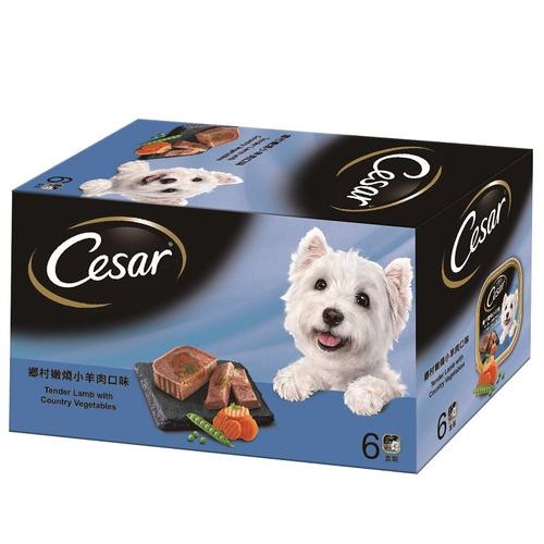 《西莎》狗餐盒-嫩燒小羊肉(100g*6盒/組)