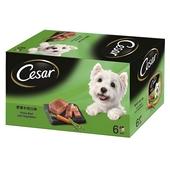 《西莎》西莎狗餐盒-野菜+牛肉(100g*6盒/組)