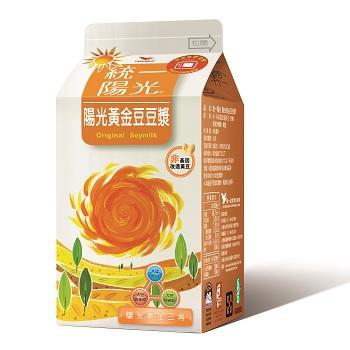 統一 陽光黃金豆豆漿(450ml/盒)
