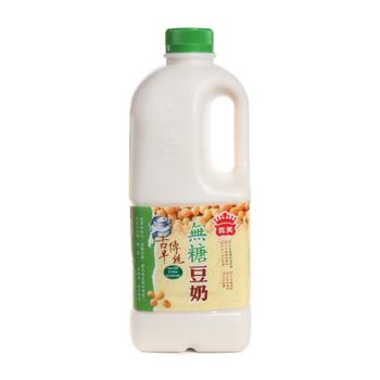 義美 古早傳統豆奶-無糖(2000ml/瓶)