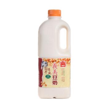 義美 古早傳統豆奶-原味(2000ml/瓶)