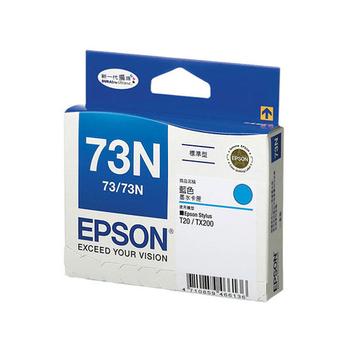 EPSON T105250 NO.73N 原廠藍色墨水匣