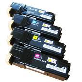 《EZTEK》適用全錄 Fuji-Xerox  DocuPrint C1110/C1110B全新環保碳粉匣---1組4色(C1110/C1110B環保碳粉匣---印量3000張)