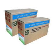 《EZTEK》適用全錄 Fuji-Xerox  DocuPrint 203A全新環保碳粉匣---黑色2盒(CWAA0649 環保碳粉匣---印量2500張)