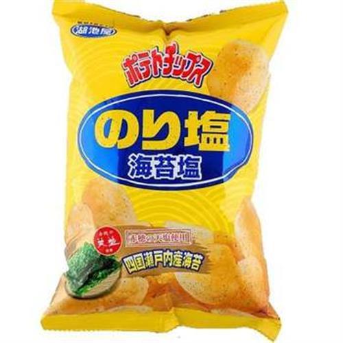 湖池屋 海苔鹽洋芋片(82g/包)