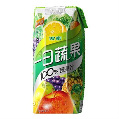 波蜜 100%一日蔬果果菜汁(330mlx6包/組)