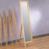 《Homelike》自然原味松木穿衣鏡(A)