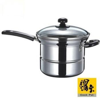 鍋寶 不鏽鋼多用途鍋 21cm / 單柄 SS-435QX