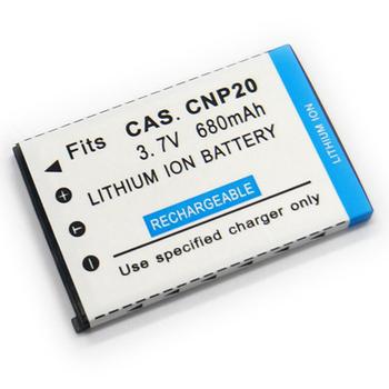 CASIO相機電池 NP20 Z60 Z70 Z77 Z75 M1 M2 M3 M20 S1 S2 S20 S3 CD-825 相機電池(680mAh)
